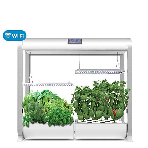 AeroGarden Farm Plus - White (24' Grow Height)