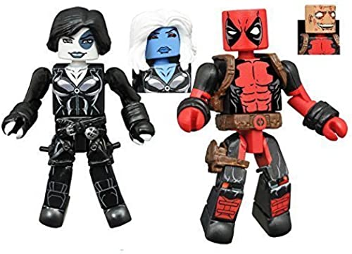 Minimates Series 65 - Marvel Now Deadpool & Copycat as Domino by Minimates