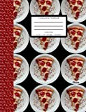 Composition Notebook College Ruled Pepperoni Pizza: 200 Pages; 100 Sheets; Fun Teen Gift- Lined Journal/Diary/Notebook; 7.25in x 9.75in