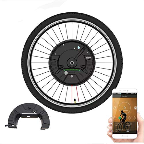 LiRongPing Electric Bike Conversion Kit/Conversion Kit Electric Conversion Bicycle Kit with Battery Brushless Gear Hub Motor Wheel E Bike for Bicicleta Eletrica MTB Kit