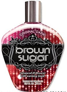 TAN INORPORATED ORIGINAL DARK BROWN SUGAR WITH BRONZER 400ML SUNBED LOTION CREAM TANNING by Tan Incorporated