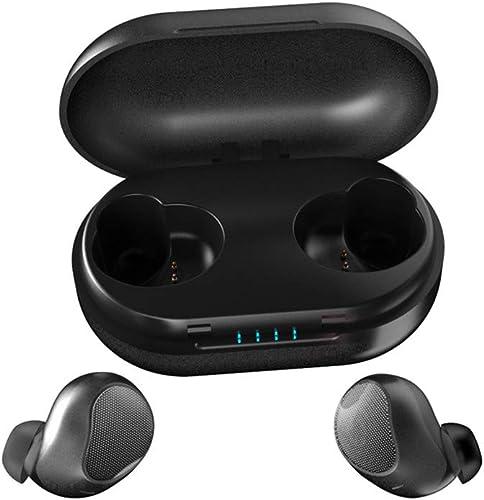 muy popular Auriculares azultooth en el oído, oído, oído, azultooth 5.0 Deportes, inalámbricos, TWS auriculares deportivos, IPX5 resistente al agua, HiFi estéreo, cancelación de ruido, con micrófono para Android iPhone  elige tu favorito