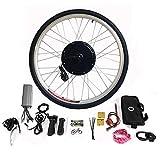 RANZIX Kit de conversión para bicicleta eléctrica de 28 pulgadas, 250 W/1000 W, rueda delantera de 36 V, 250 W