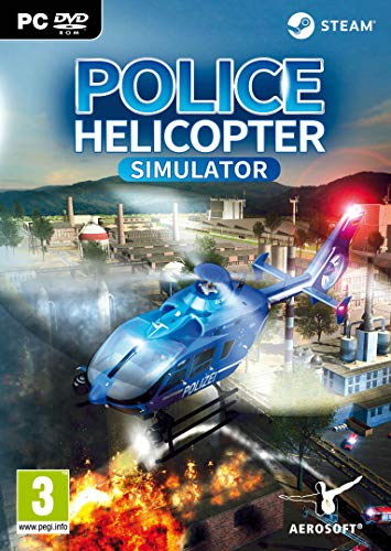 Police Helicopter Simulator PC DVD