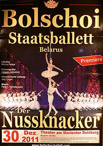 Bolschoi Staatsballett - der Nussknacker - Duisburg 2011 Konzert-Poster A1