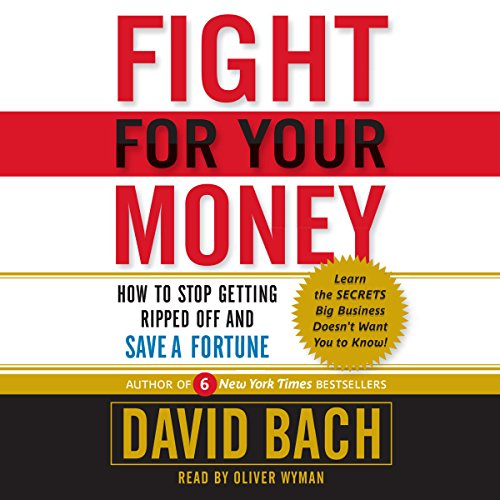 Fight for Your Money audiobook cover art