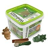 Whimzees Natural Dental Dog Chews Long lasting, Variety Box Mixed Shapes, Medium, 28 Pieces