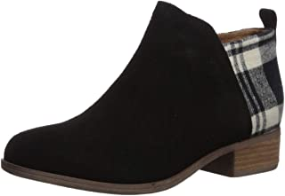 Black Suede/Tex Velour Mix Women's Deia Bootie 10013038