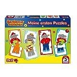 Schmidt Spiele Puzzle 56273Benjamin Blümchen, mi Primera Puzzles, 9x 2Piezas