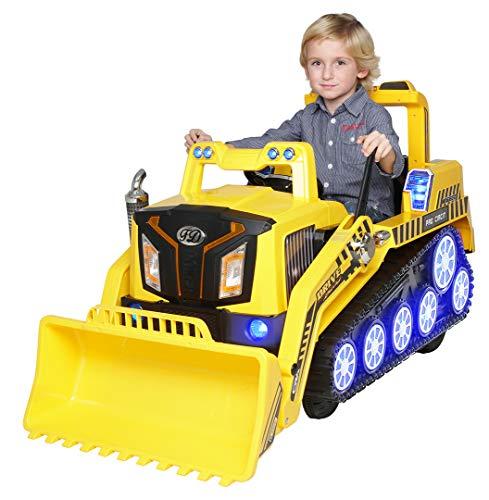 RC Auto kaufen Kinderauto Bild: Actionbikes Motors Kinder Elektro Radlader D2810 - 50 Watt Motor - Weichgummiring Reifen - 2,4 Ghz Fernbedienung - Soft Start*