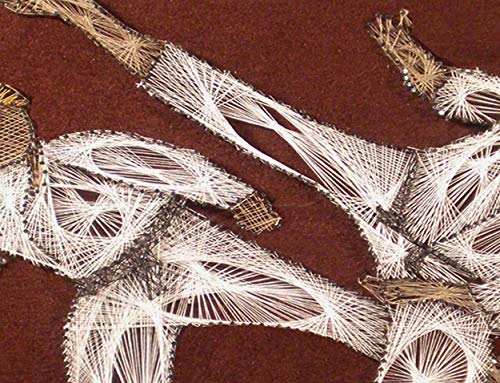 """STRING ART Martial Arts 11"""" x 14"""" by Art of string"""