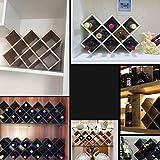 Botelleros Vino, 5 Botellas Vinoteca, Son Libremente Colocado, Encimera Libre-sostenedor Del Soporte De Almacenamiento Del Vino De La Botella De Vino Tabla Bastidores, Titular De La Botella De Almacen