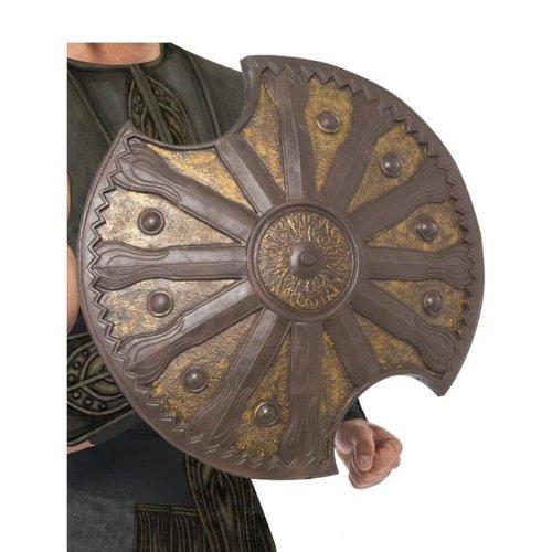 Smiffys Karneval Kostüm Zubehör Achilles Schild Bronze antiker Krieger LARP