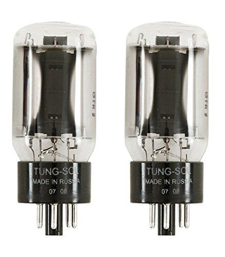 Tung-Sol 6L6 'STR' Power Vacuum Tube, Platinum Matched Pair