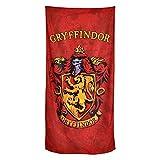 Toalla de Playa Harry Potter Gryffindor Cresta 90x180cm Elbe Bosque Rojo