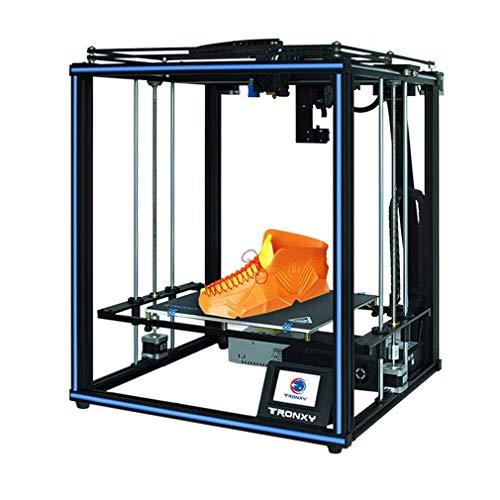 3D Drucker X5SA PRO Druckgröße 330 * 330 * 400 mm Trapezgewindespindel und kräftiger Extruder zum Drucken von PLA, TPU, WOOD, PETG