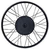 RICETOO 48V 1000W Solo Tiene Motor de Correa de Rueda de Bicicleta eléctrica giratoria de Rueda Trasera Impermeable, Que se Puede Usar para 20'24' 26'27,5' 28'29' 700C (48V 1000W 29inch)