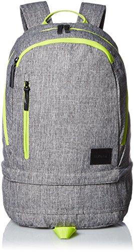 [ニクソン] バックパック Ridge Backpack SE Heather Gray/Lime