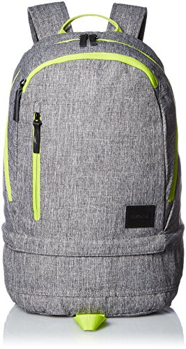 [ニクソン] バックパック Ridge Backpack SE Heather Gray/Lime