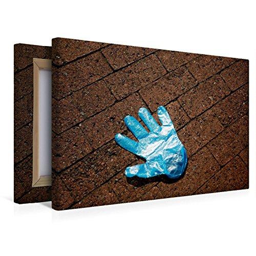Calvendo Premium Textil-Leinwand 45 cm x 30 cm Quer, Ein Motiv aus Dem Kalender Handschuhe – Verloren – Vergessen | Wandbild, Bild auf Keilrahmen, Fertigbild Leinwand, Leinwanddruck Menschen Menschen - 7