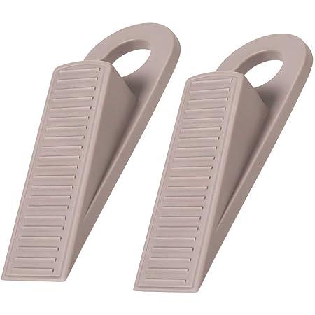 4 Pack Brand New HARD PLASTIC DOOR STOP 4 3//4 Inch Black DOOR WEDGE STOPPER