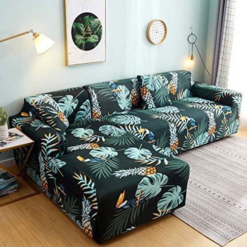 FYBDZCN Sofá Slipcovers Elasticidad Jacquard Cubiertas De Sofá Forma L Sofá Sofá Cubre Esquina Sofá Protección De Muebles Cubrir W Sofá De Dos Plazas145-185cm(57-73inch)