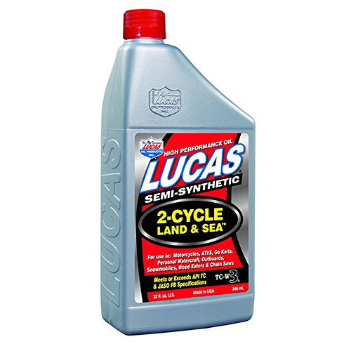 Lucas Oil 10467 Land and Sea 2-Cycle Oil - 1 Quart
