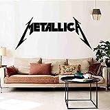 JXFM Etiqueta de la Pared Metallica Dormitorio Habitación Etiqueta Mural 95 * 42cm
