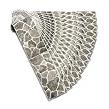 JLCP Gris 3D Pegatinas De Baldosas, 14 Piezas Imitación Piedra Natural Adhesivo para Azulejos Rectangular En PVC Impermeable Pegatinas De Azulejos para Cocina Baño,55X13.5Cm