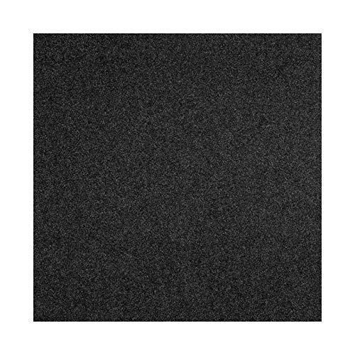 etm Nadelfilz Bodenbelag Protex - für Sport, Büro & Messen - Nadelvlies in dezentem Anthrazit - einfaches Verlegen - 1 Stück (100x100 cm BZW. 1 qm)
