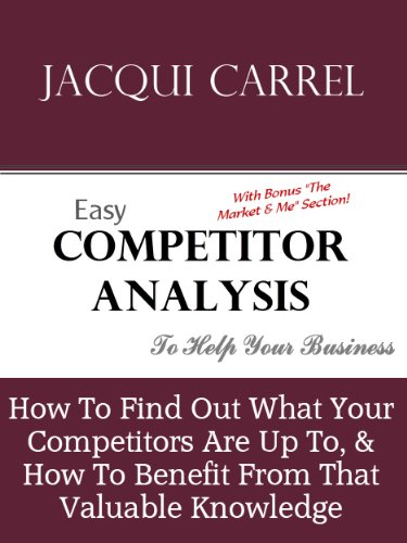 Easy Competitor Analysis - How to Find What Your Competitors Are Up To, & How to Benefit From That Valuable Knowledge (Business Building Book 1) (English Edition)