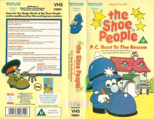 The Shoe People - P.C Boot to the Rescue [VHS] [1987]