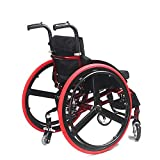 TWL LTD-Wheelchairs Silla de Ruedas de Aleación de Aluminio, Silla de Ruedas Deportiva...