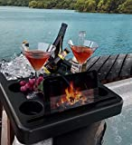 Hot Tub Ice Bucket , Tablet Stand, Drink Holder...