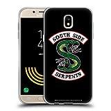 Head Case Designs Licenza Ufficiale Riverdale South Side Serpents Arte Grafica Cover in Morbido Gel Compatibile con Samsung Galaxy J5 (2017)