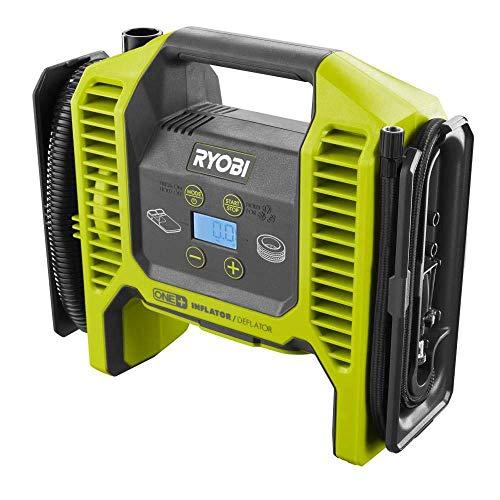 Ryobi 18-Volt ONE+ Dual Function Inflator/Deflator (Tool Only) P747 (Bulk Packaged, Non-Retail Packaging) (Renewed)