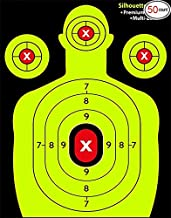 Ani Love Crab SHOOTIN GTARGETS accessories and hunting-Bright Yellow-amp Heavy-Grade Silhouette Paper Sheets paintball airgun bb air gun rifle