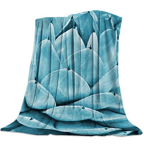 Manta Para Tequila Agave Verde Planta Natural Blanket 125 X 100CM