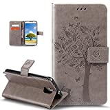 Galaxy Note 3 Case,Galaxy Note 3 Cover,ikasus Embossing Cat