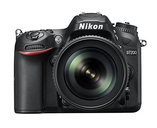 Nikon D7200 - Cámara réflex Digital de 24.2 MP (Pantalla de 3.2', FHD, WiFi), Color...