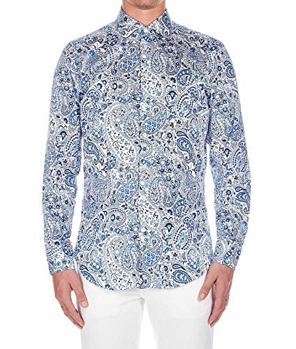 Etro Luxury Fashion Herren 1145147300990 Blau Baumwolle Hemd   Frühling Sommer 20