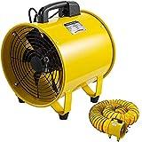 Living Equipment Ventilador portátil 12 Ventilador portátil 2500 3900 m sup3; / h Ventilador de servicios públicos Ventilador a prueba de explosiones Ventilador para espacios confinados de 520 W co