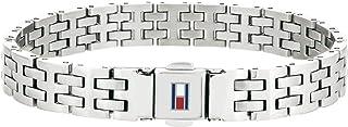 Tommy Hilfiger Jewelry 2701062 Bedelarmbanden voor heren, roestvrij staal
