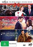 Hallmark Christmas 3 Film Collection (Santa's Secret aka Christmas at Cartwright's/Family for Christmas/The Mistletoe Promise)