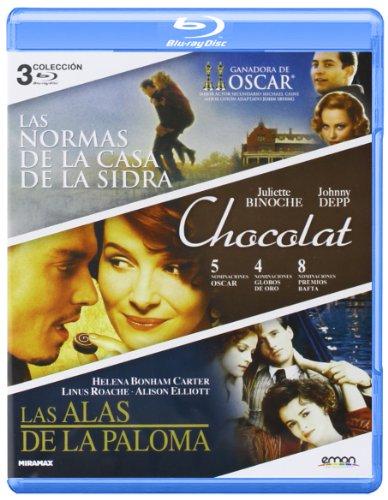 Pack: Las Normas De La Casa De La Sidra + Las Alas De La Paloma + Chocolat [Blu-ray]