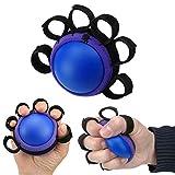 shuxuanltd Pallina Antistress Pallina Antistress Mano Terapia Esercizio Palla per Le Mani Allenatore della Forza della Presa della Mano