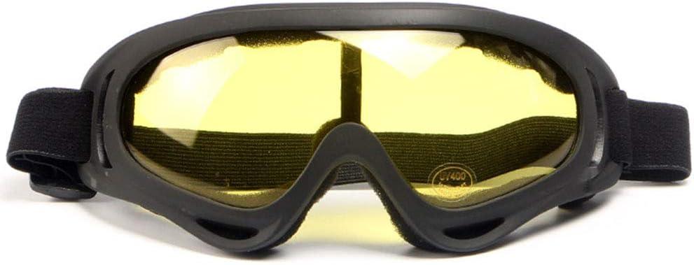 Gafas de Seguridad de protección Gafas de Seguridad Protección de los Ojos Gafas de Seguridad en el Trabajo de los vidrios de Seguridad Lentes Anti Polvo/arañazos/Niebla/Viento,Amarillo