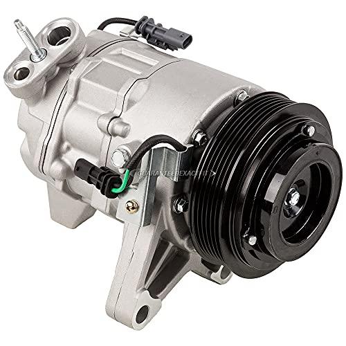 AC Compressor & A/C Clutch For Chevy Equinox V6 Impala & GMC Terrain V6 - BuyAutoParts 60-03554NA New