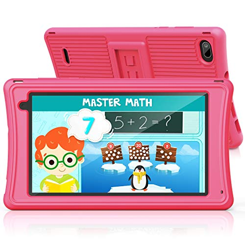 Kids Tablet 7' - JEEMAK Tablet for Toddler with Parental Control, Android...