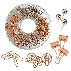 Rose gold push pin/clip set on Amazon for $13.99